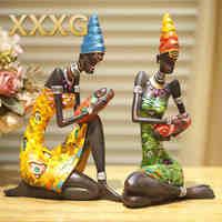 XXXG African People New Home Furnishing Articles Furnishing Articles At Home European Sitting Room Desktop