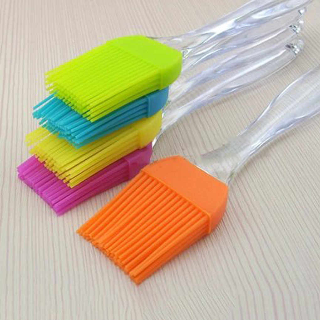 1/2pcs Multipurpose Silicone Basting Brush baking cooking BBQ Silicone Spatula Pastry Brush
