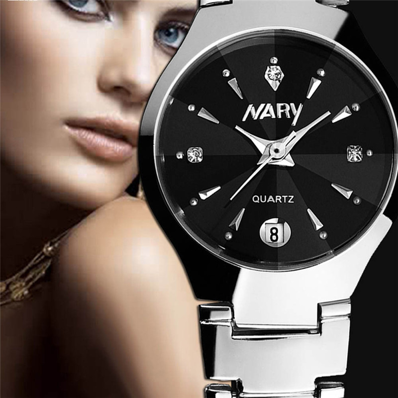 Luxury Brand Women Watches Women Quartz Date Analog Clock Ladies Silver Stainless Steel Casual Wrist Watch Female Montre Femme brand luxury rose gold women watches ladies quartz analog clock girl casual watch women steel bracelet wrist watch montre femme