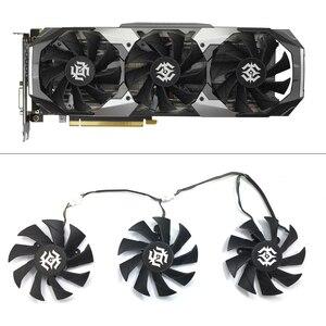 Оригинальный 85 мм 4Pin охлаждающий вентилятор GPU Замена для ZOTAC GTX1070 8GD5 RTX 2070 8GD6 RTX 2080 8GD6 RTX 2080Ti 11GD6 X вентиляторы для игровых ПК