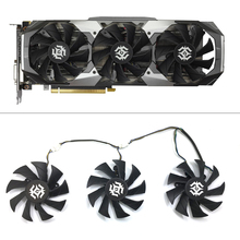 Original 85mm 4Pin GPU Cooler fan Replace for ZOTAC GTX1070 8GD5 RTX 2070 8GD6 RTX 2080 8GD6 RTX 2080Ti 11GD6 X GAMING PC fans