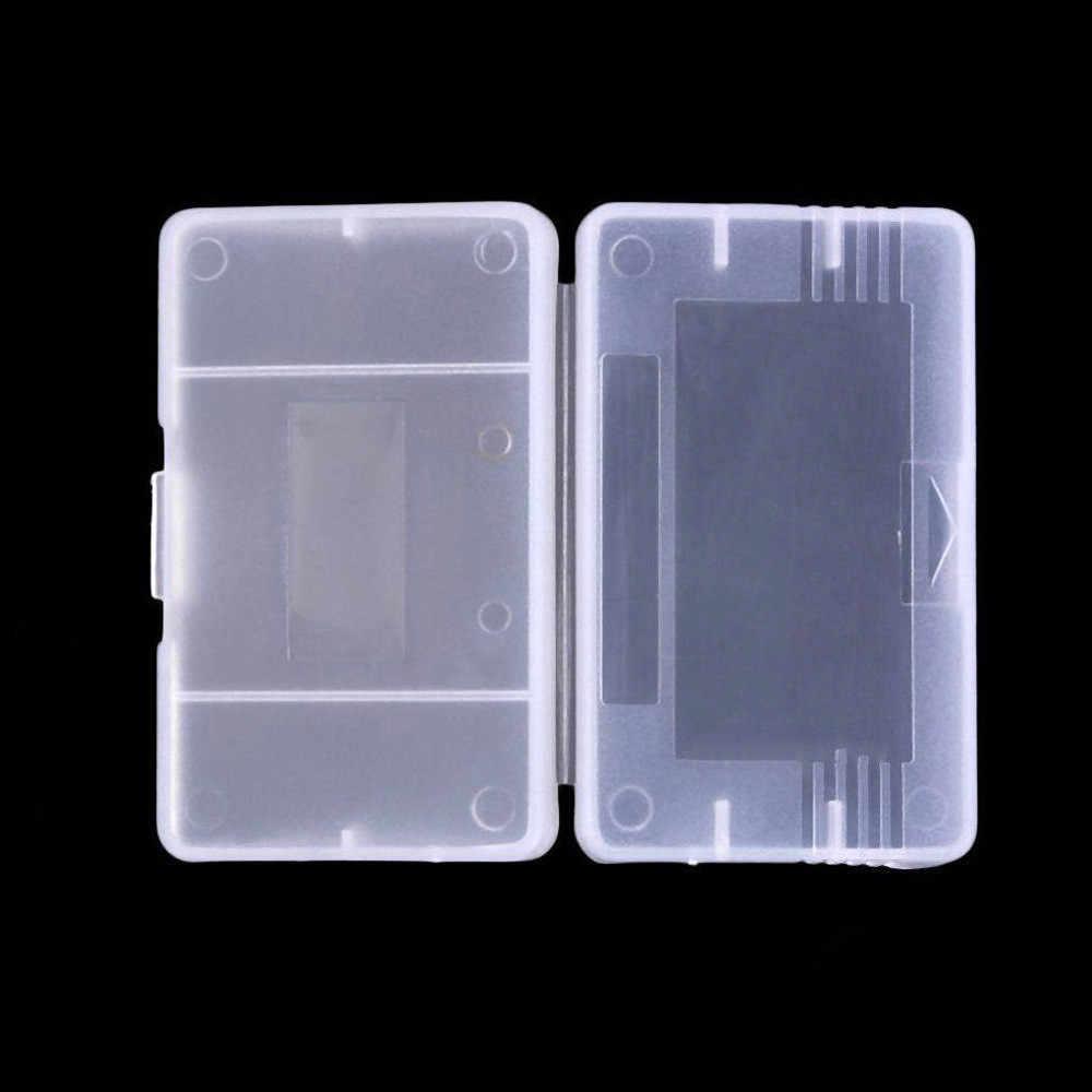 Fzqweg 10 pcs 투명 게임 카트리지 케이스 pp 플라스틱 게임 카드 카트리지 커버 케이스 닌텐도 방진