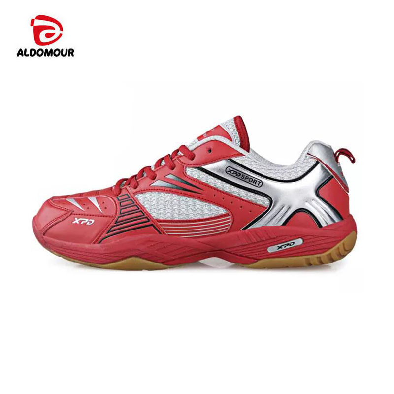 ALDOMOUR Brand Men Volleyball Shoes High Quality EVA Muscle Anti-Slippery Training Professional Sneakers Women Sport Shoes Plus aldomour breathable volleyball shoes sneakers stability anti slip ping pong shoes breathable table tennis shoes volleyball shoes