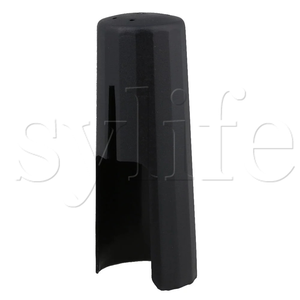 Black Tenor Sax Cap Fits Saxophone Strap Ligature