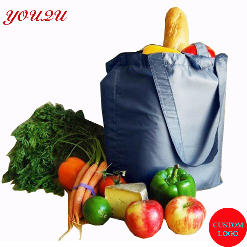 custom polyester shopping bag tote bag high quality