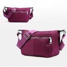 2019 Summer New Casual Oxford Cloth Waterproof Shoulder Bag Fashion Large Capacity Messenger Bag Simple Elegant Nylon Ladies Bag