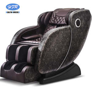 Image 5 - Korea India Japan Latest Fix SL Track Power Supply Price 3d Foot Shiatsu Cheap Electric 4d Zero Gravity Full Body Massage Chair
