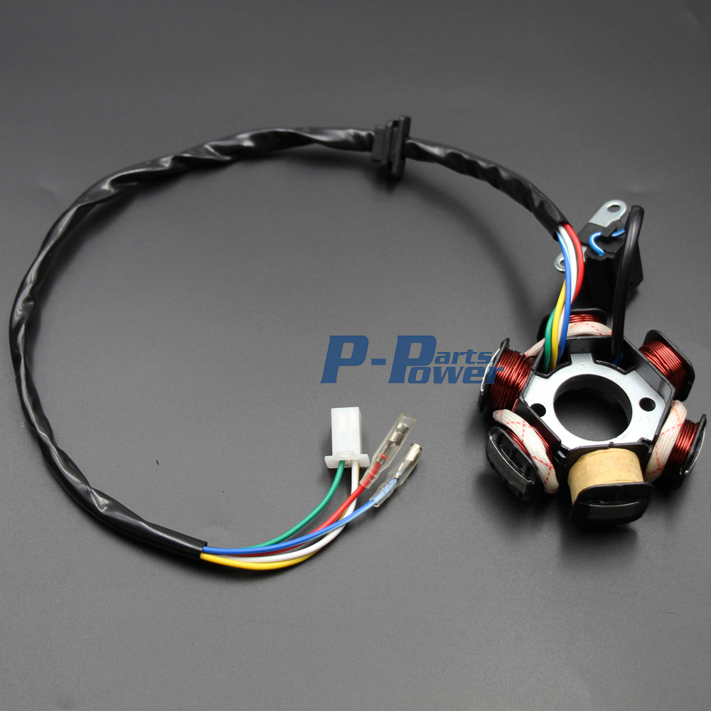 Chinese Gy6 125cc 150cc Electrics Stator Wire Harness Assembly 6 Pin Cdi Wiring Connector Loom Motorcycle Scooter Magneto Coil Rectifier Solenoid New In Motorbike Ingition From Automobiles