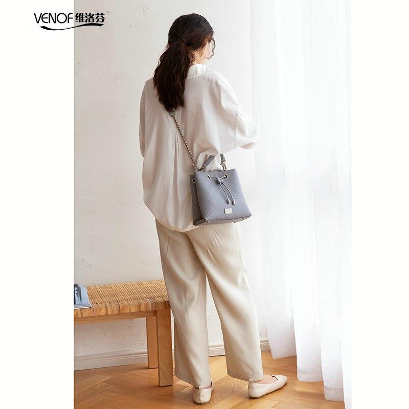 VENOF 2019 diviso borse in pelle per le donne di modo squisito femminile di spalla crossbody borse borse di lusso borse delle donne del progettista-in Borse a tracolla da Valigie e borse su  Gruppo 2