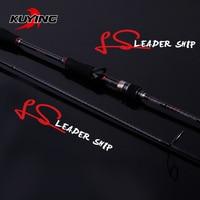 KUYING Leadership 1.92m 2.16m 2.19m 2.28m 2.4m 2.58m 2.7m Spinning Casting Lure Fishing Rod Pole Carbon Cane FUJI Medium Fast