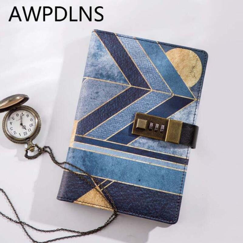 Notebooks Jianwu Anlage Notebook Kreative Passwort Buch Mit Schloss 2019 Tagebuch Planer Kawaii Weichen Abdeckung Persönlichen Kugel Journal Kawaii