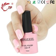 Dannail #6 Pink Angel 10 segundos Velocidad Curar Uñas de Gel de Uñas 10 ml de Larga Duración Soak-Off Gel UV Esmaltes de Uñas de Arte Belleza herramientas