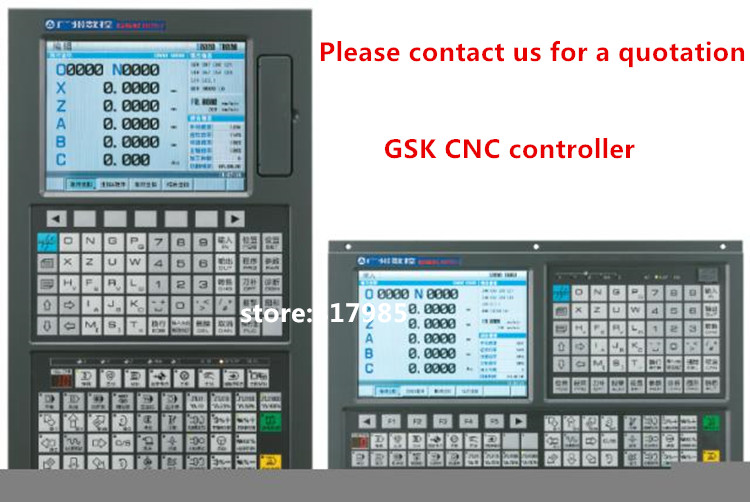 Good price GSK 980TDi CNC controller lathe turning machine system +PLC control GSK цена
