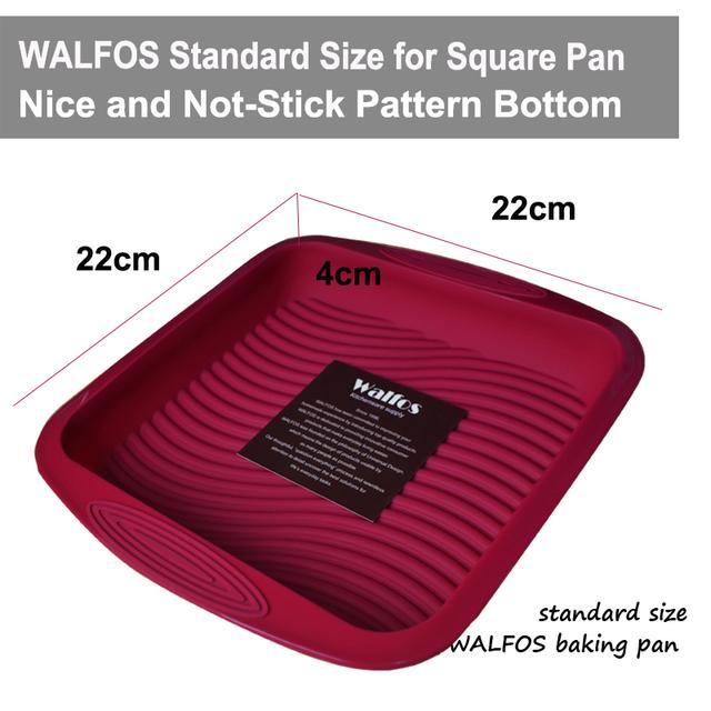 Silicone Non-stick Square Cake Mold