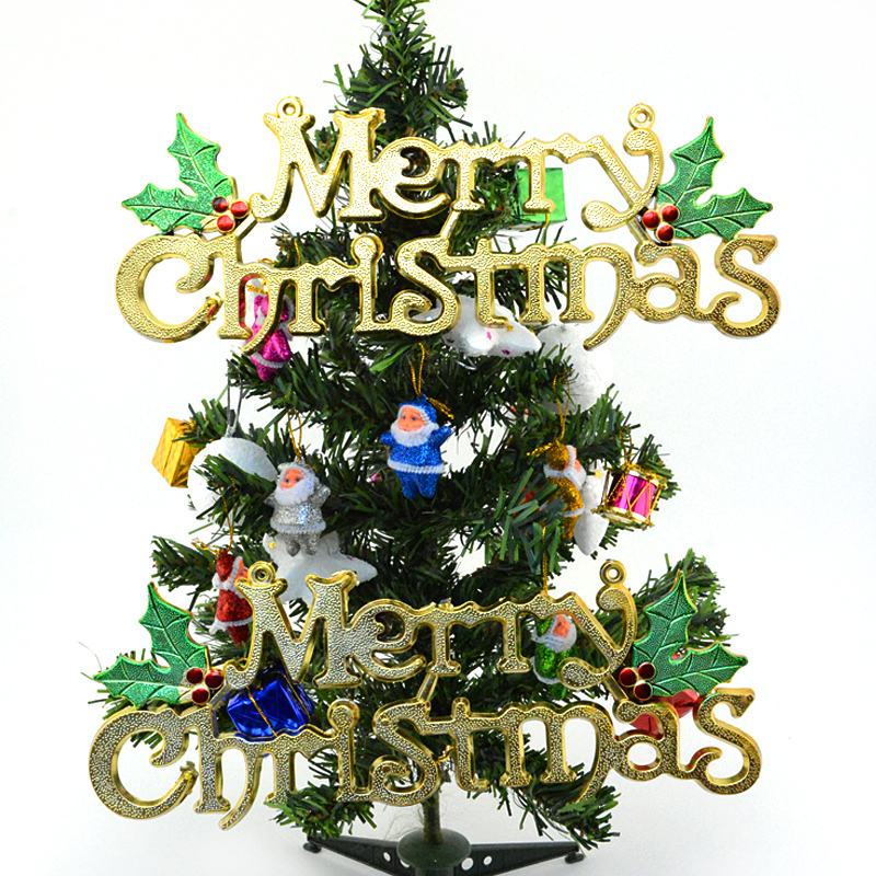 Nuevo Feliz Navidad Decoración Del Partido Del Festival Árbol de navidad Decorac