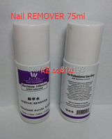 75ML Nail Art Remover Wash Nail Water Brush Cleaner Acrylic Jin Nail Gel Remover Fragrant Smell