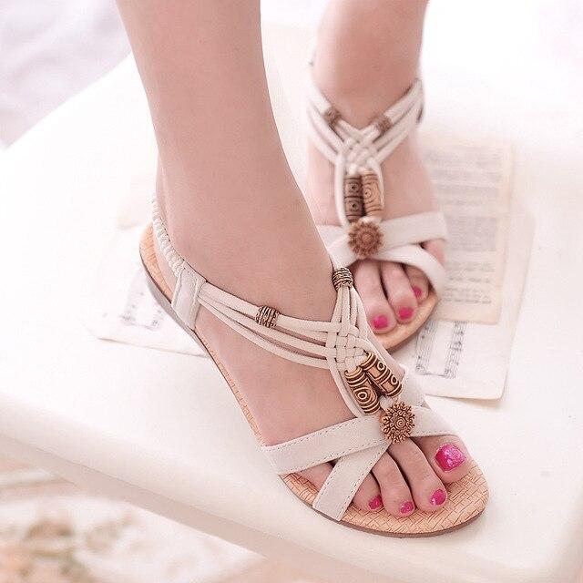 Sandálias das mulheres de conforto sandálias sapatos de verão mulher retro flip flops sapatas das senhoras 2018 moda sandálias de cunha mulheres sapatos
