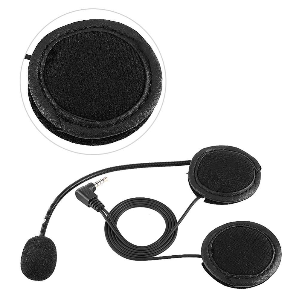 Accessories Bluetooth Headset Headphone Microphone For V4/V6 Motorcycle Helmet Intercom Motocicleta