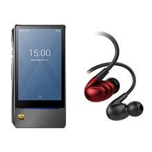 Bundle Verkauf von FiiO Android-basierend musik-player X7 II mit balance am3a mit FiiO Dreibettzimmer Fahrer Hybrid In-ohr kopfhörer F9SE