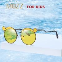 dc254a808 Child Sunglasses Polarized Pretty Goggles Girl Alloy Sunglasses New Little  Bear Frame Boy Girl Sunglasses Classic