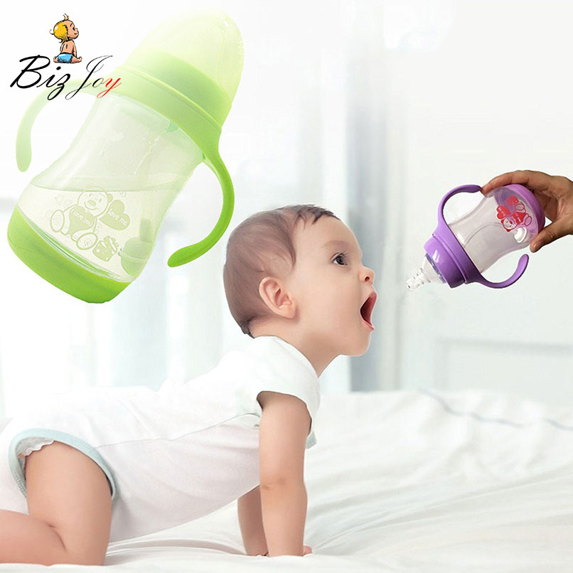 Shatterproof Milk Water Bottle Temperature Sensor Baby -6306