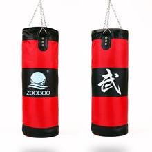 2019 New Zooboo Training Fitness Hollow Punching Bag Sandbag MMA Fighter Boxing Bag Hook Hanging Bag Sport Sand Punch T стоимость