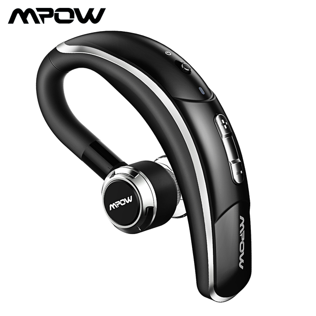 Mpow 028 Bluetooth 4.1 Earphone Car Headset With Mic And 6 Hour Talking Time Handsfree Earbuds Wireless Headphone For Car Driver