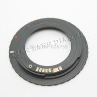 En gros 10 pcs noir AF Confirmez Mount Adaptateur M42 Lens pour pour Canon EOS EF Appareil Photo EOS 5D/EOS 5D Mark II/EOS 7D