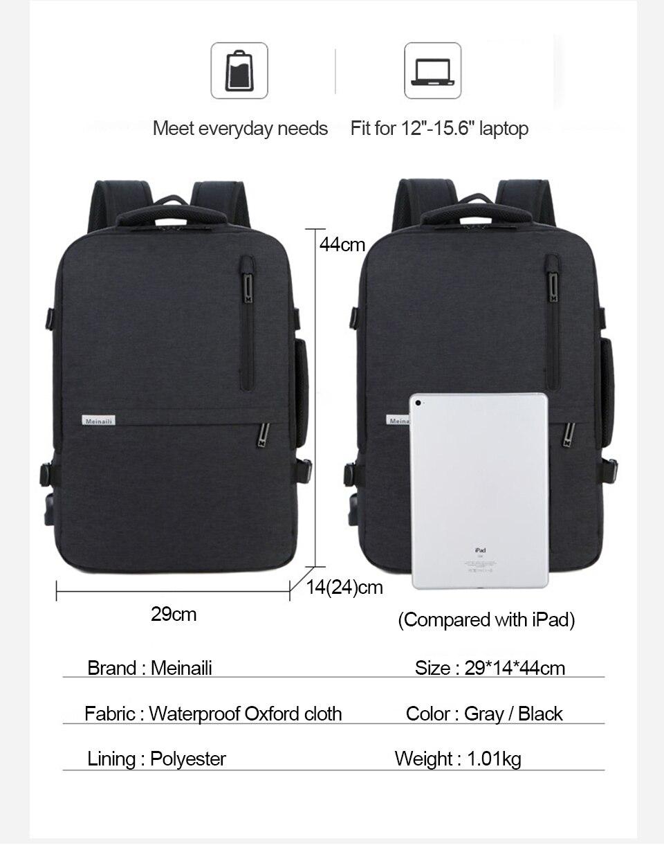 Grand sac à dos Extérieur 40L 9