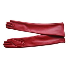 Women's Leather Elbow Gloves