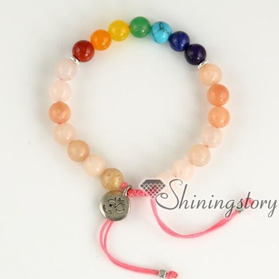 a8691aa9bb0 7 chakra bracelet birthstone bracelets healing crystal jewelry prayer beads  buddhist spiritual jewelry wholesale lucky jewellery-in Strand Bracelets  from ...