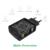 Para qualcomm carga rápida 3.0 18 w micro usb móvil de escritorio cargador de teléfono qc3.0 carga de pared enchufe de la ue para iphone samsung xiaomi