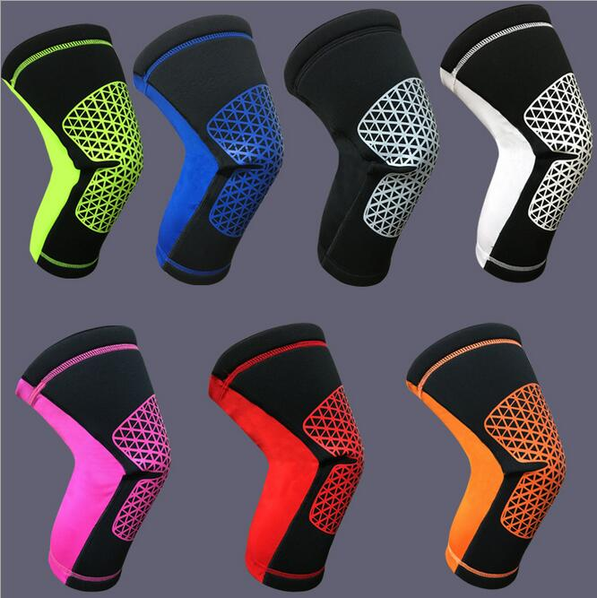 1 Pair Knee Pads Basketball font b Football b font Badminton Men Riding Running Mountaineering Equipment