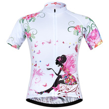 Womens Hot Selling Breathable Cycling Jersey Spring And Summer Short Sleeve Clothing Shirts