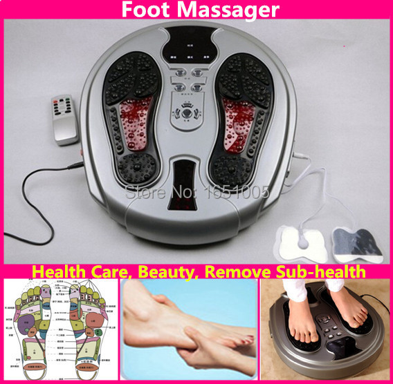 Electromagnetic Wave Pulse Foot Massager Healthcare Beauty Feet Massaging Machine Instrument Infrared Remote Control david houvenagle local healthcare politics louisville s growth machine 1947 2007