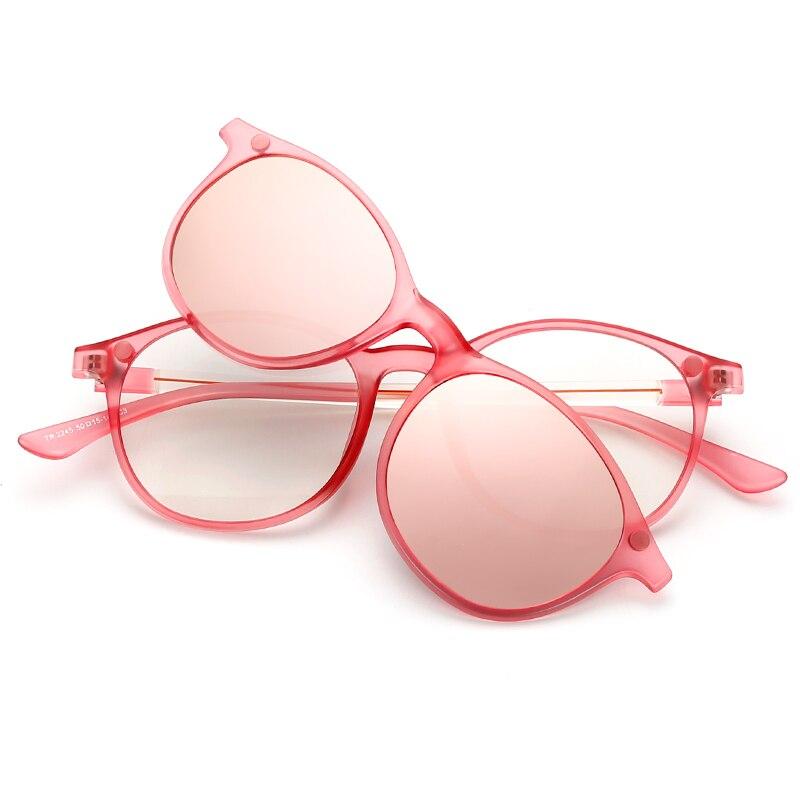 deb59fd8d3 Brightzone New Arrival Glasses Fashion Retro Polarized Sunglasses TR90  Myopia Mirror School Style Men And Women Models Glasses-in Sunglasses from  Apparel ...