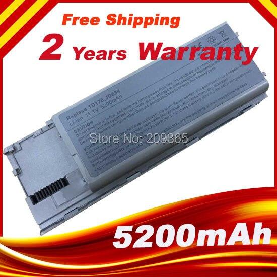 Laptop Battery For Dell Latitude D620 D630 D630c Precision M2300 Latitude D630 UD088 TG226 TD175 PC764 FG442 KD492