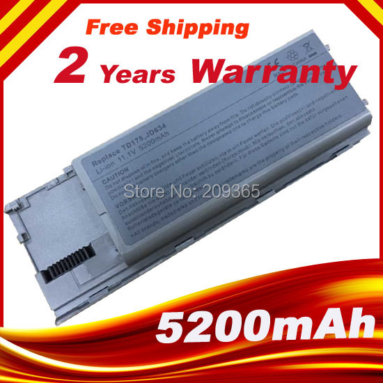 Laptop Battery For Dell Latitude D620 D630 D630c Precision M2300 Latitude D630 UD088 TG226 TD175 PC764 FG442 KD492