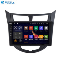 YESSUN Android Radio Car Player For Hyundai Accent 2011~2013 Stereo Radio Multimedia GPS Navigation With Bluetooth AM/FM