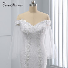 Cap Sleeve Pure White Crystal Beading Mermaid Wedding Dress African New Design Plus Size Bride Gown Wedding Dresses WX0097
