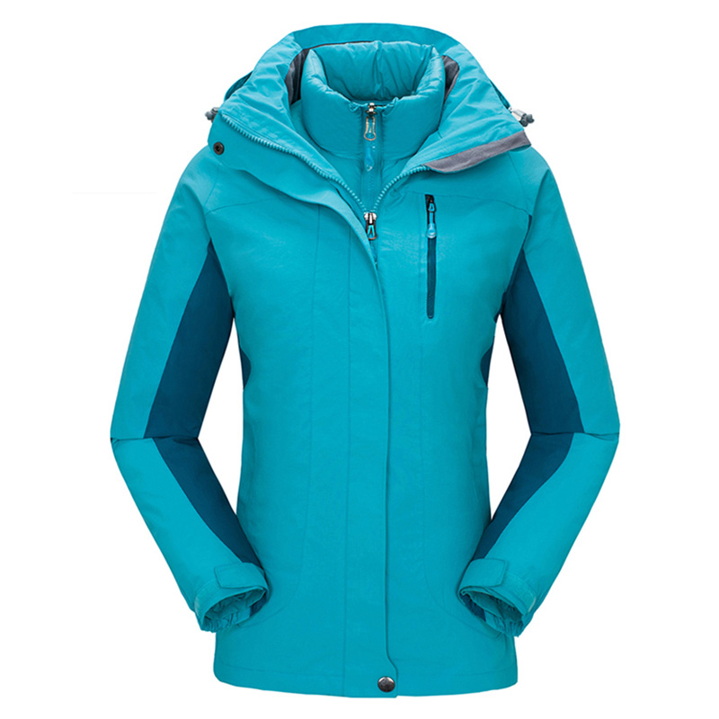 Outdoor Cotton Padded Inner Jackets Winter Windstopper Waterproof Jacket Women Snowboard Camping Coat Hiking Ski Casaco Feminino