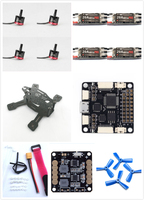FPV Racing Mini Drone 130 Quadcopter Frame Kit With Emax RS1306 Motor LittleBee 20A Pro ESC