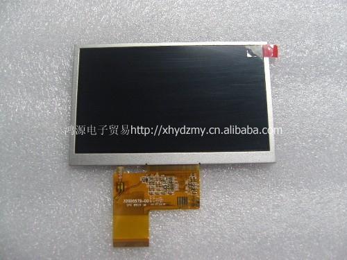 The original 5 inch AT050TN33 V.1 32000579-02 MP4.GPS, with touch screen at050tn33 touch screen 5 inch x580lec520p