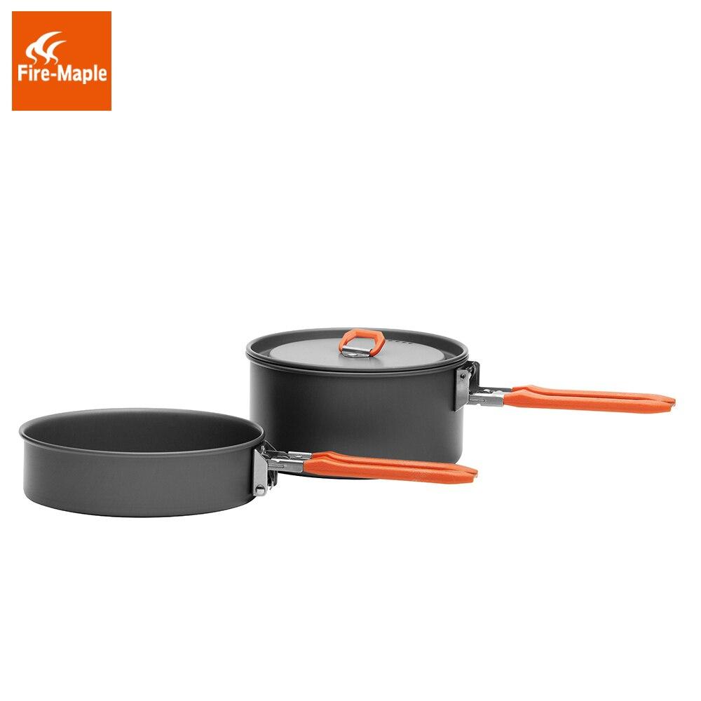 Fire Maple FMC-217 1-2 Persons Lightweight Aluminium Camping Cookware Set