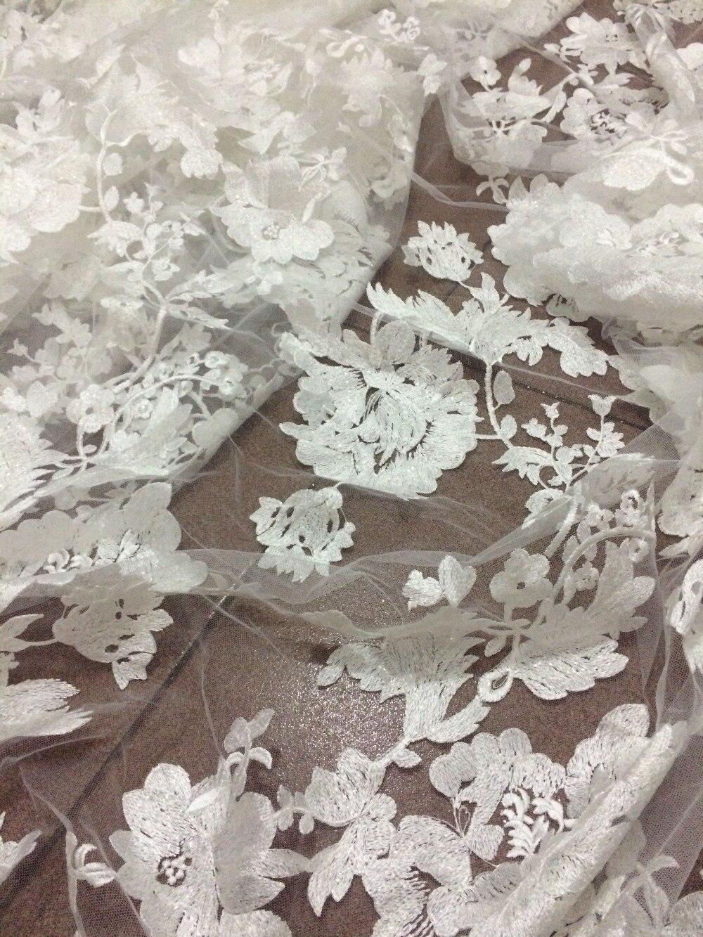 Piękne Cyndi 688 23 nigeryjczyk tkaniny na sukienka na imprezę nowy afryki haftowane koronki tkaniny w Koronka od Dom i ogród na  Grupa 3