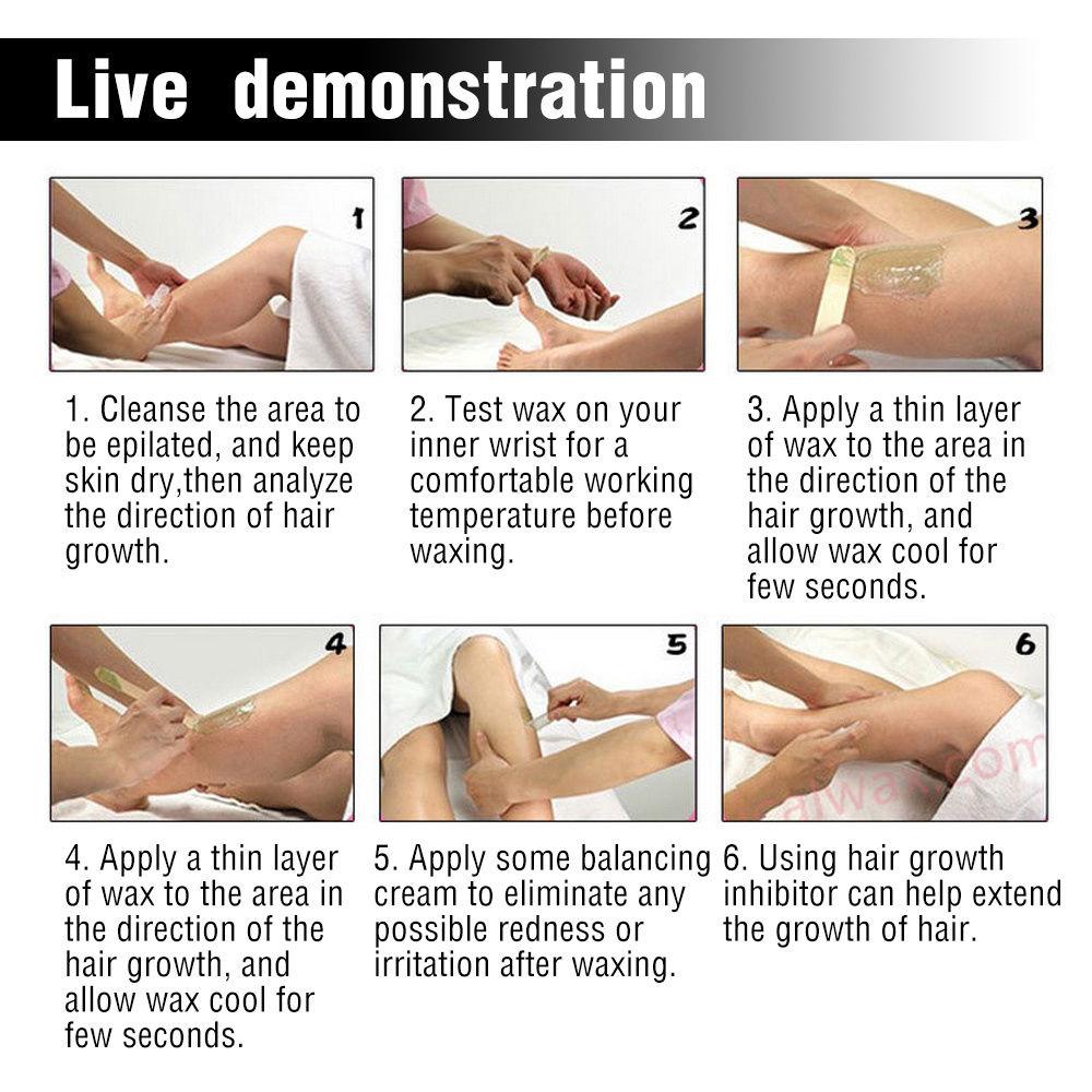 Deep bikini - wax hair removal in the salon