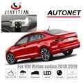 JiaYiTian cámara de visión trasera para VW Virtus sedán 2018 2019 2020/CCD/visión nocturna/cámara de respaldo/cámara de matrícula de cámara inversa