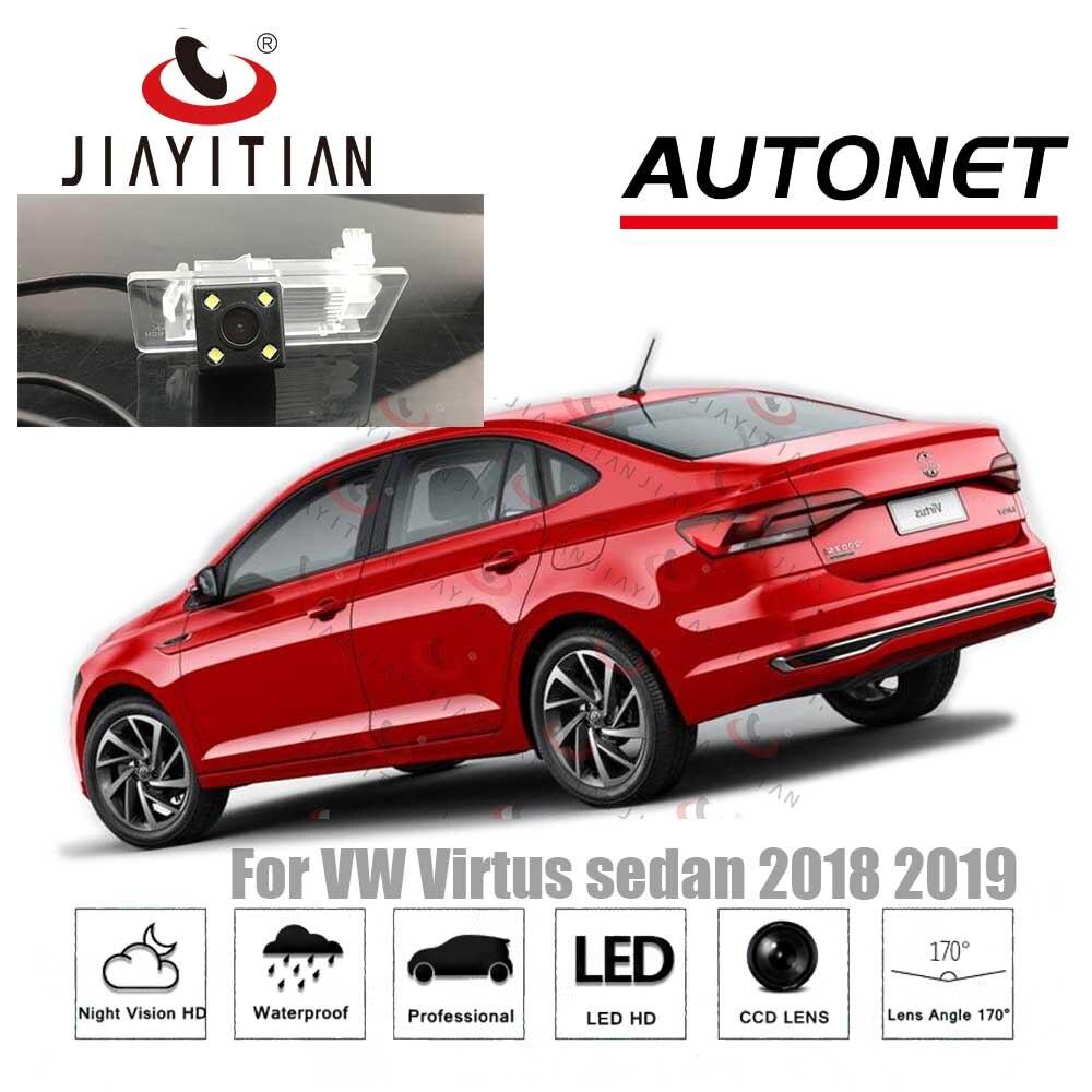 JiaYiTian Rear View Camera For VW Virtus Sedan 2018 2019 2020/CCD/Night Vision/Backup Camera/Reverse Camera License Plate Camera