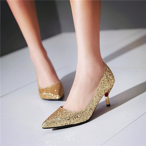 Compare Prices on Gold Mid Heels- Online Shopping/Buy Low Price