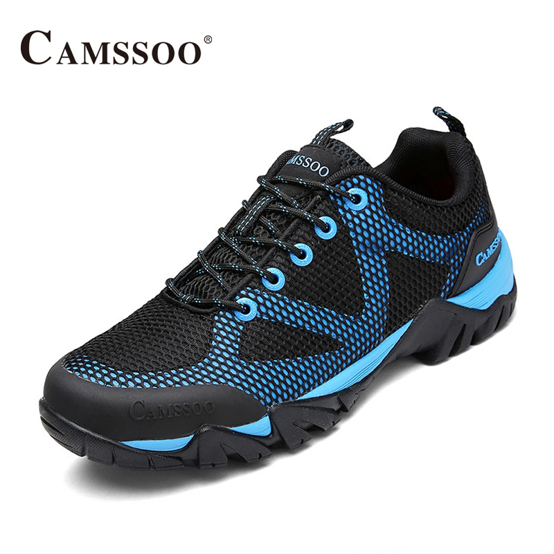 Camssoo Big Size 45-48  Mens Walking Shoes Soft Footwear Classic Sneakers Platform Free Run Wearable Comfortable AA40362 camssoo new running shoes men soft footwear classic men sneakers sports shoes size eu 39 44 aa40375
